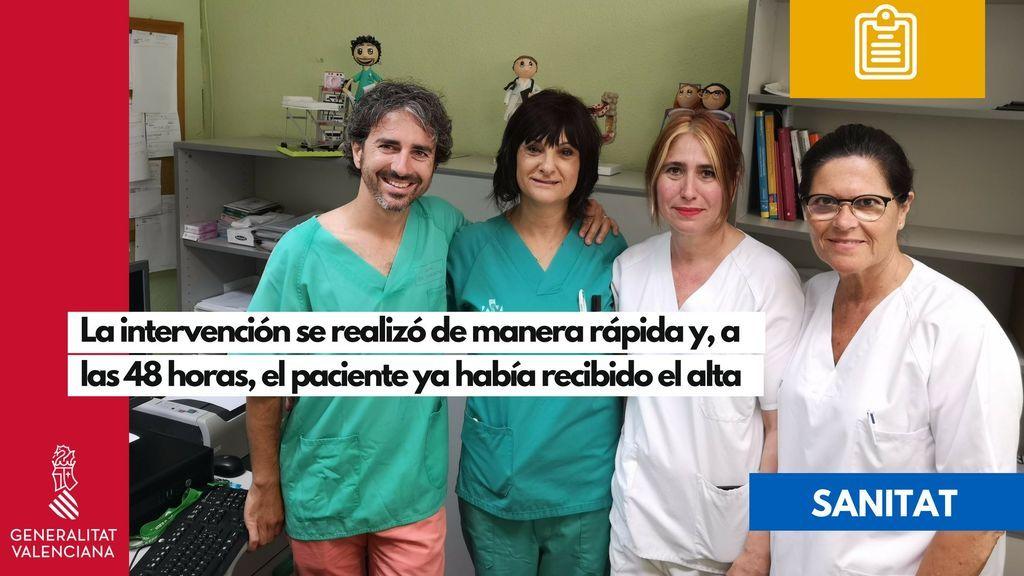 Un trasplante de heces salva la vida de un paciente con una infección grave en Valencia