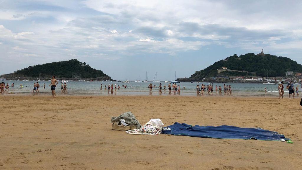 El norte se salva de las tormentas: La playa de la Concha, espléndida con 31 grados