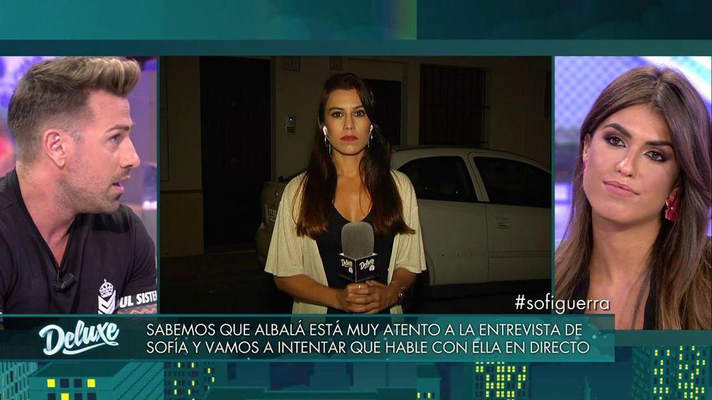 Rafa Mora cuenta lo que Sofía no se atreve y desvela la gran bronca entre ella y Albalá