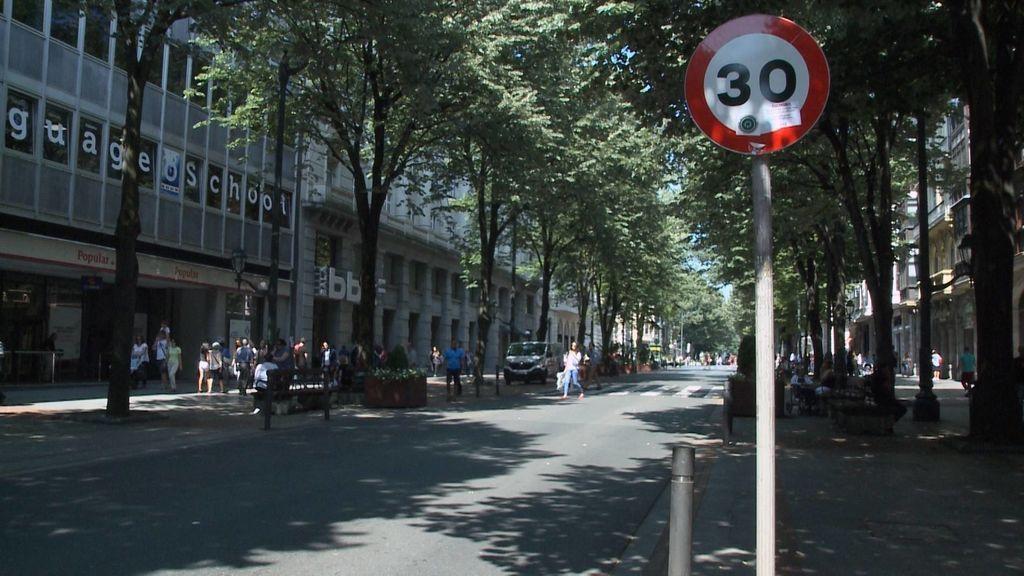 Bilbao reduce el límite de velocidad en favor de la salud