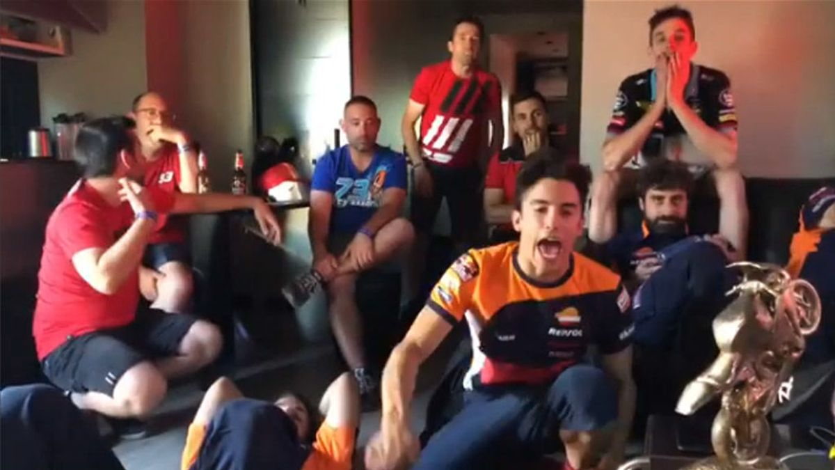 """El tremendo 'cabreo' de Marc Márquez tras la eliminación de España del Mundial: """"¡Qué injusto!"""""""