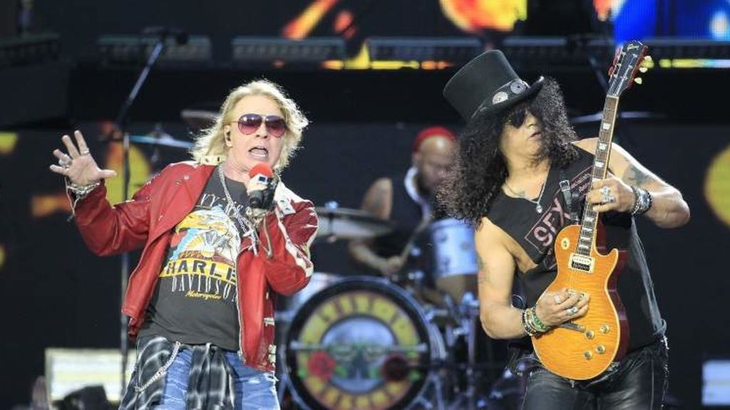 Guns N'Roses llega este domingo a Barcelona con 'Not In This Lifetime Tour'