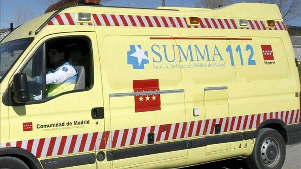 Muere un ciclista arrollado por una furgoneta conducida por un hombre ebrio en Madrid