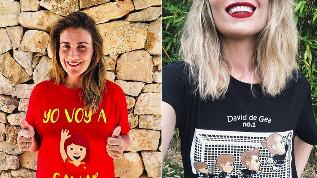 Carlota Corredera, Rafa Mora, Edurne: Así apoyan y sufren nuestros telecinqueros a 'La Roja'