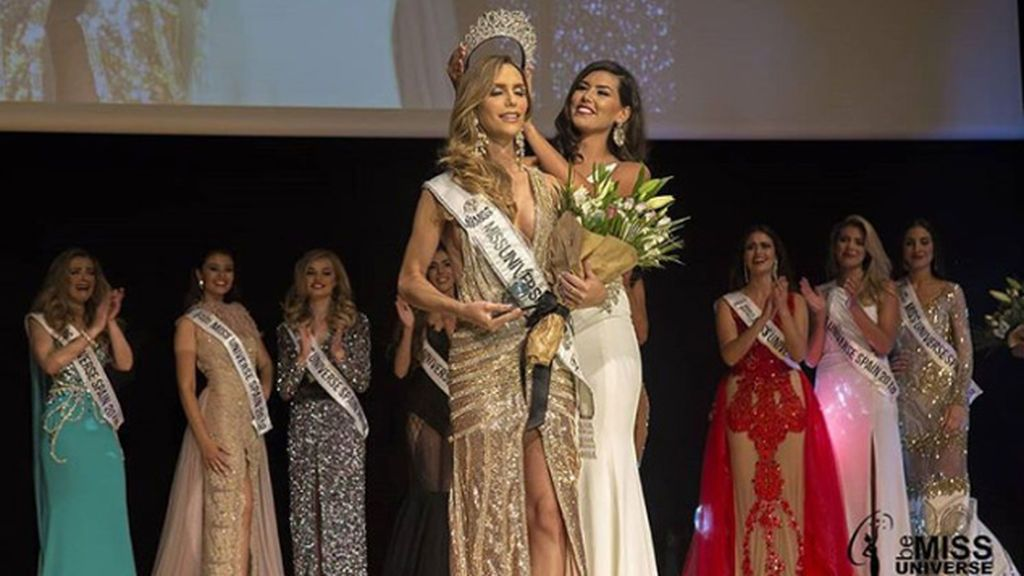 Ángela Ponce, pregonera del especial 'First Dates Orgullo 2018', se convierte en la primera transexual en ganar Miss Universo España