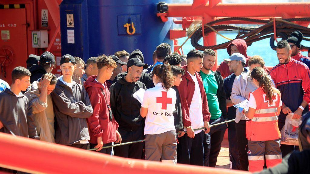 Rescatan 380 inmigrantes en aguas andaluzas en las últimas horas