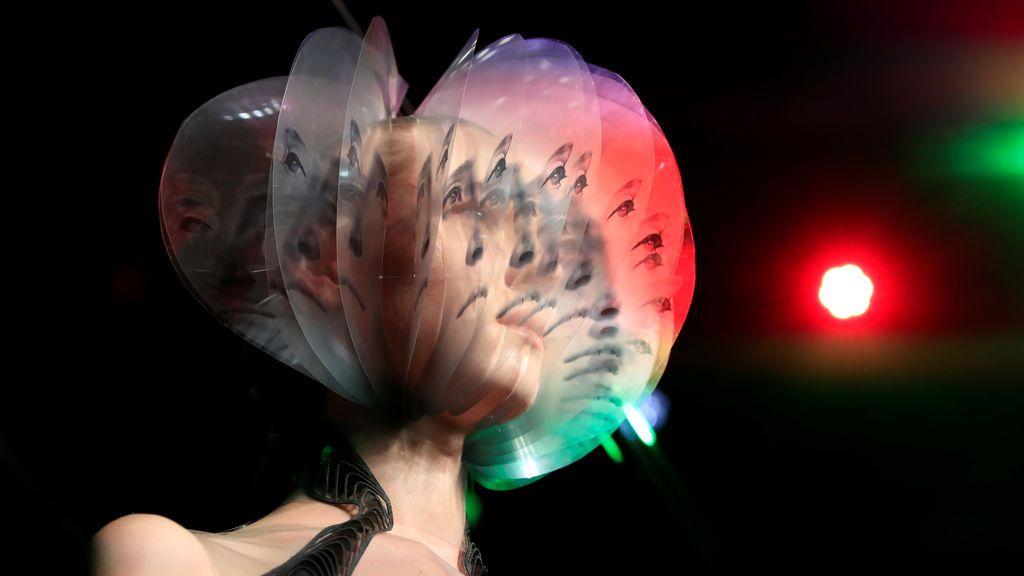 Efecto tridimensional de moda