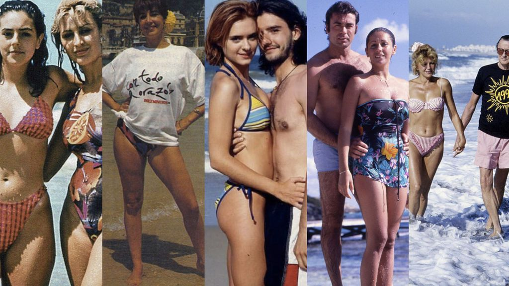 Oteradas Remember: Los mejores posados playeros de nuestras famosos