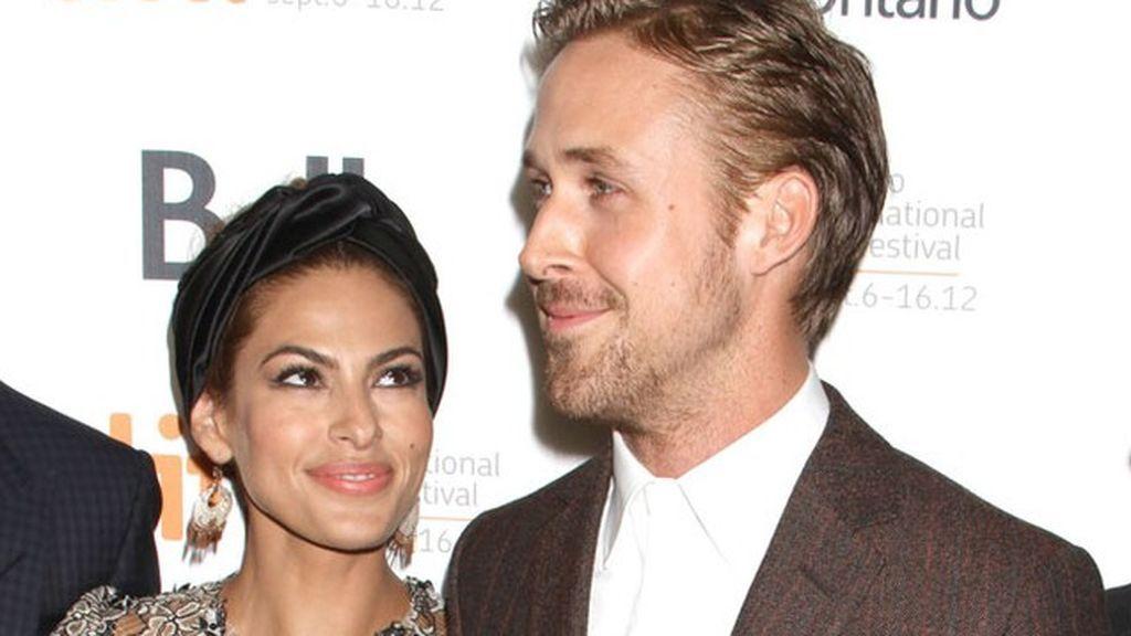Ryan Gosling y Eva Mendes a la espera de gemelos