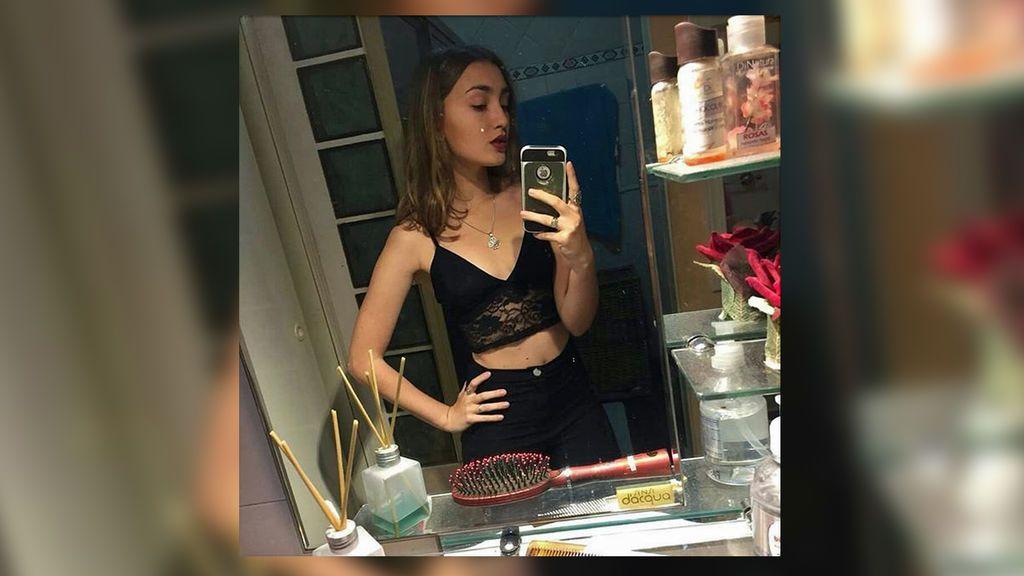 Una joven argentina muestra cómo la anorexia afectó a su vida cuando tenía 13 años