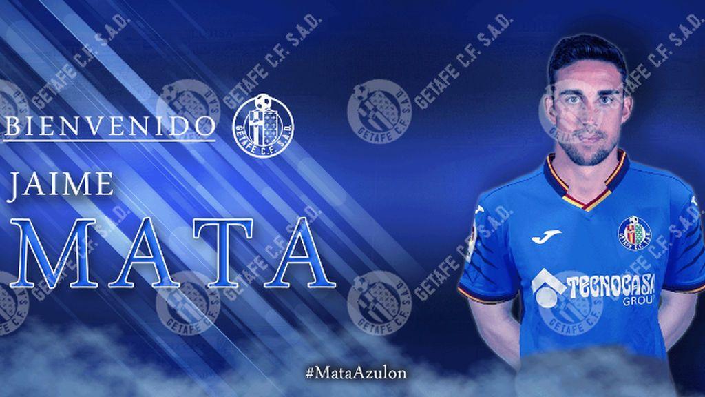 Jaime Mata ficha por el Getafe por las tres próximas temporadas
