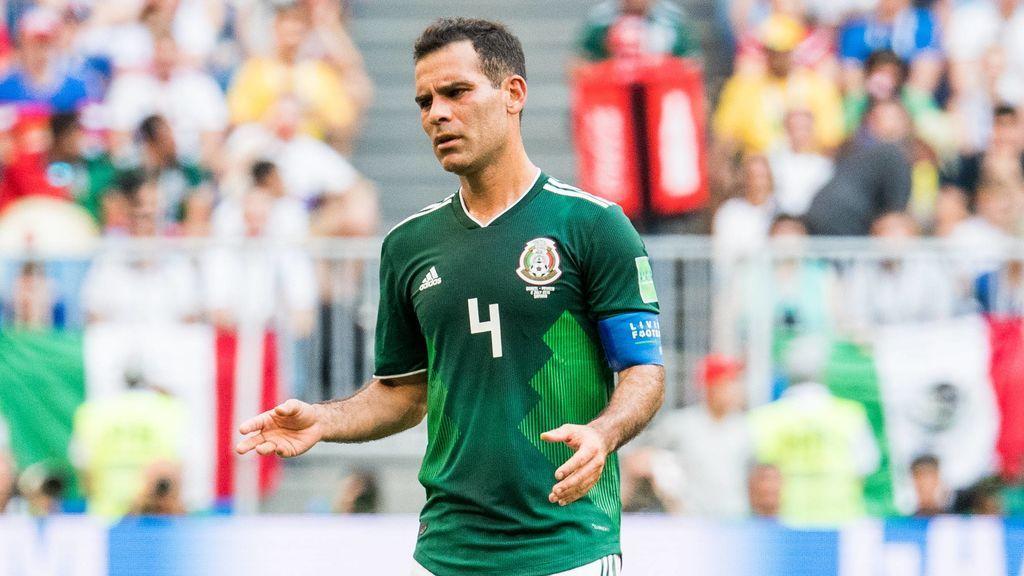 Rafa Márquez se convierte en el primer futbolista en disputar como titular cinco mundiales consecutivos