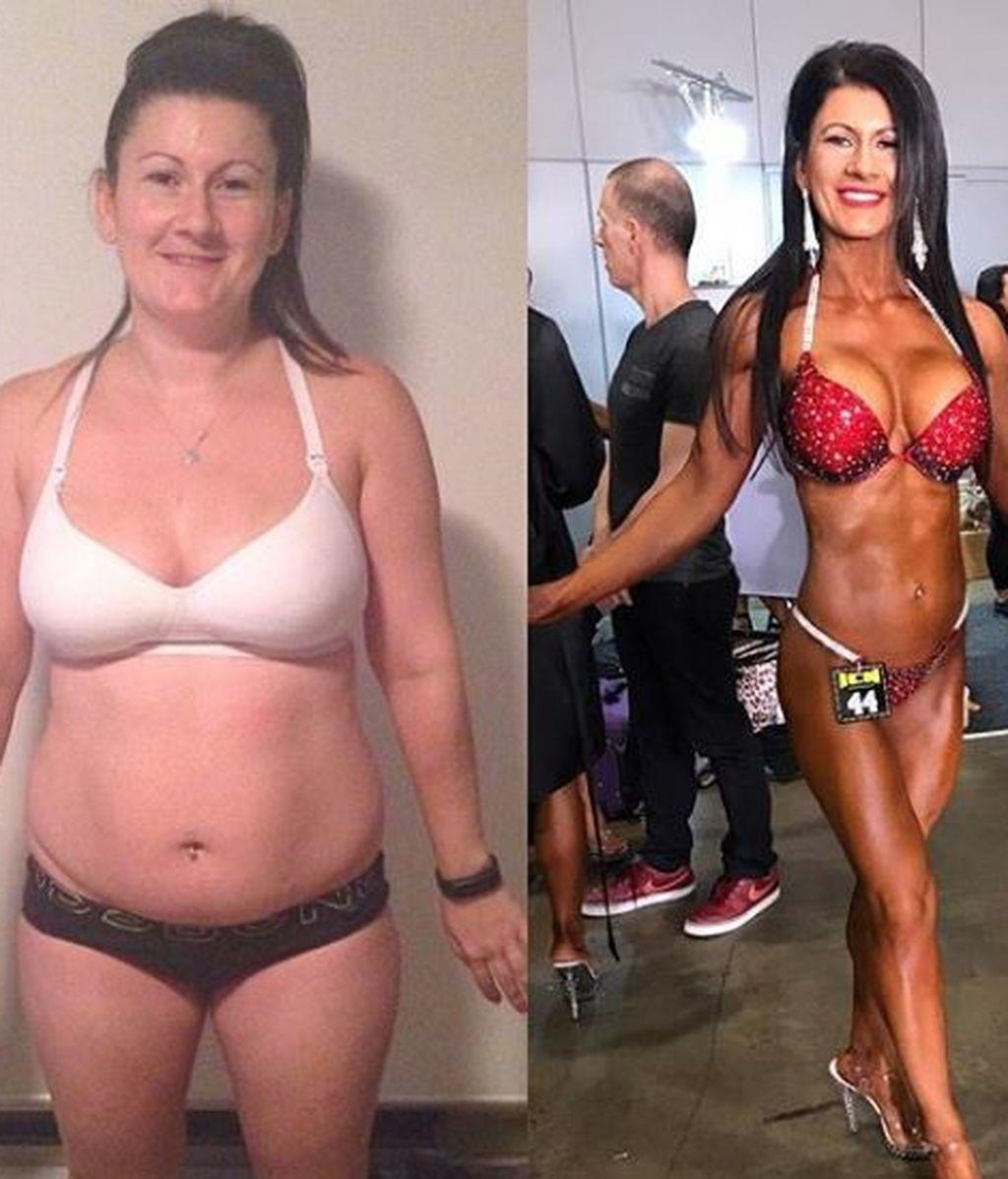 """Una modelo fitness con dos hijos anima a otras madres a cuidarse: """"Todos tenemos las 24 horas del día"""""""