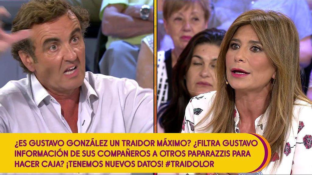 """El zasca de Antonio Montero a Gema López: """"Te ha imbuido el espíritu de 'Sálvame"""""""