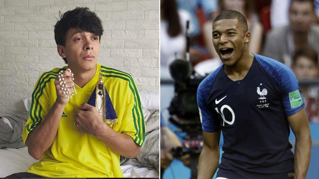Un youtuber brasileño la lía con un comentario racista contra Mbappé