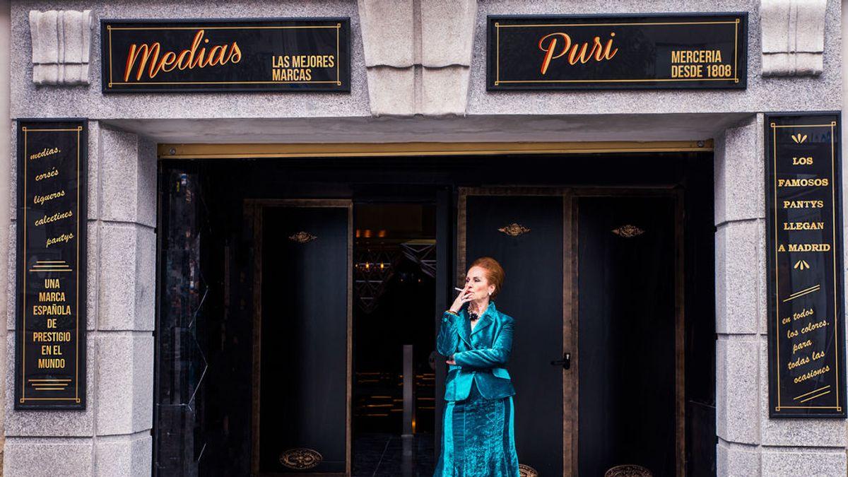 La historia de Puri: de la mercería clandestina a montar el 'discotecón' de Madrid