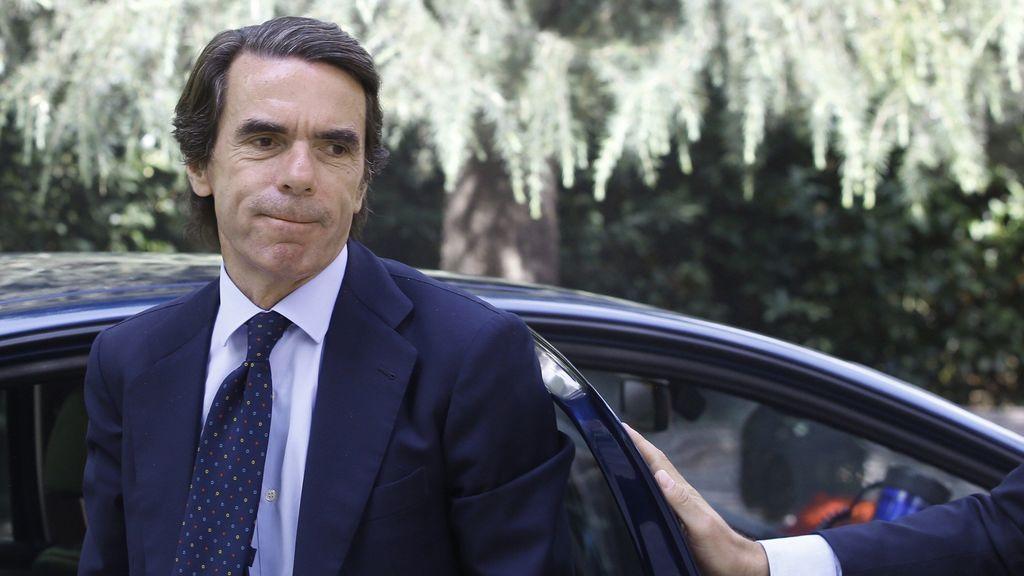 Aznar alecciona al PP: no apoya a ningún candidato y pide la refundación del partido