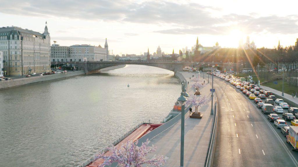 'Viajeros Cuatro', en Moscú.