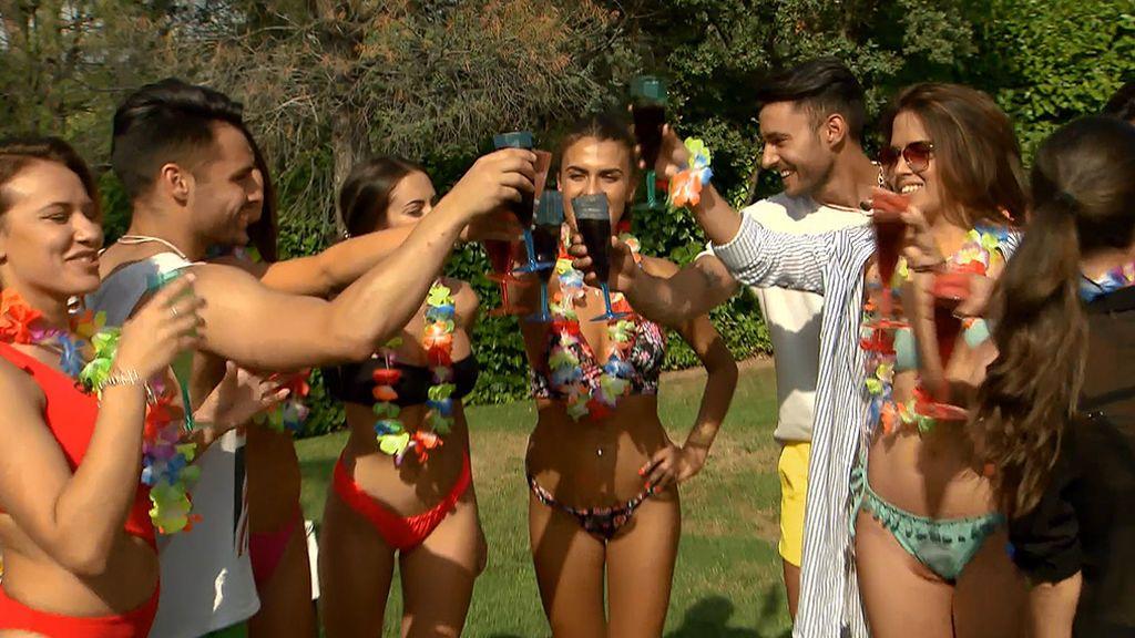 La fiesta de la piscina (parte 1): tronistas, pretendientas, Sofía, Noel... ¡comienza el verano!