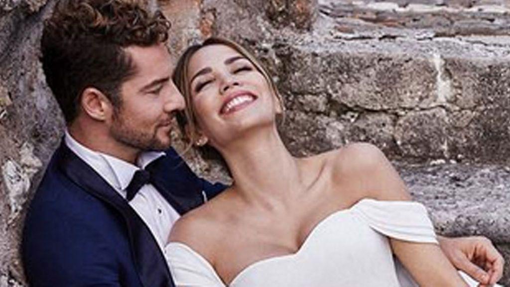 """Bisbal y Rosanna Zannetti, boda sorpresa: """"Estamos felices y queremos compartirlo con vosotros"""""""