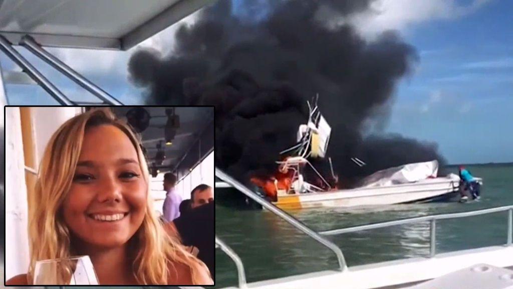 Una bailarina se queda sin piernas al explotar un barco en las Bahamas