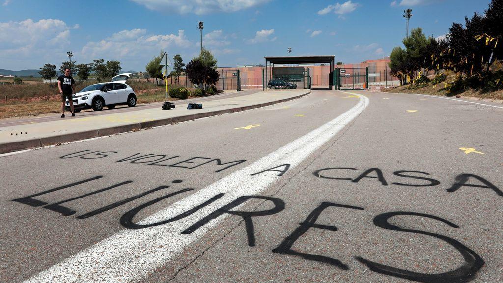Junqueras, Romeva, Sànchez y Cuixart serán recibidos este miércoles en Cataluña con manifestaciones de apoyo