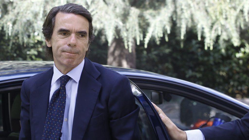 Aznar no apoya públicamente a ningún candidato y reclama una refundación del partido