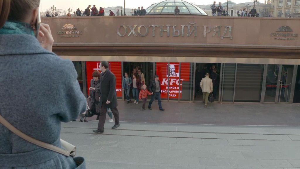 El metro, la mejor opción para evitar el caos de Rusia