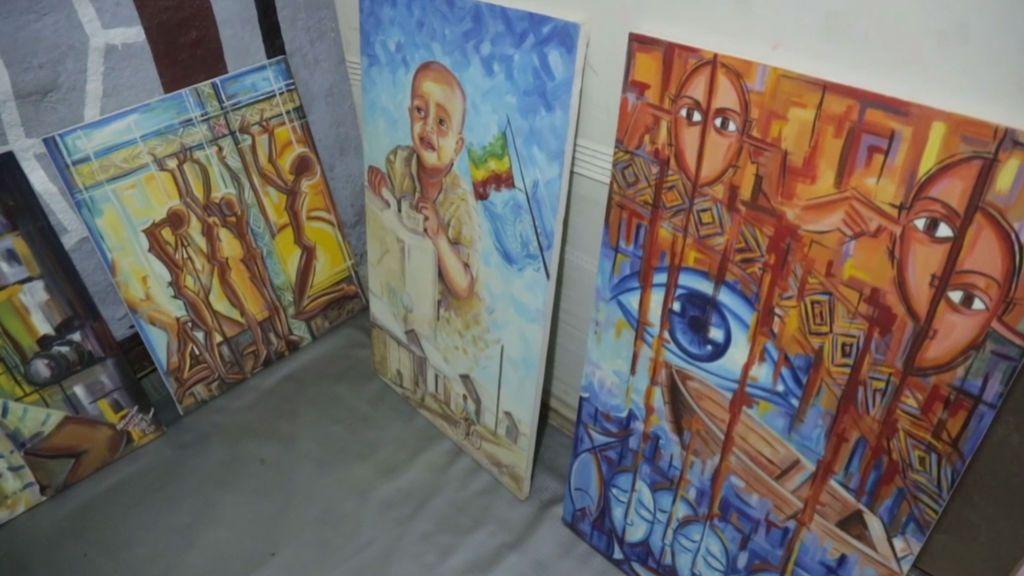 Un espacio para el arte en los campos de refugiados
