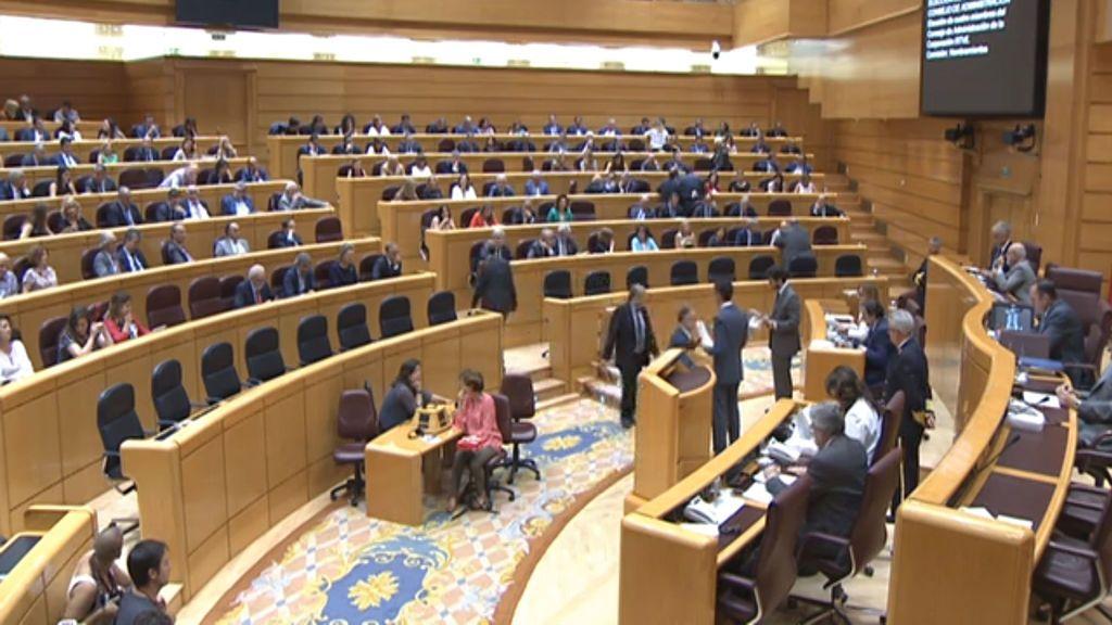 Pleno del Senado celebrado el martes 3 de julio de 2018, donde se ha votado en primera vuelta la renovación del consejo de administración de RTVE.