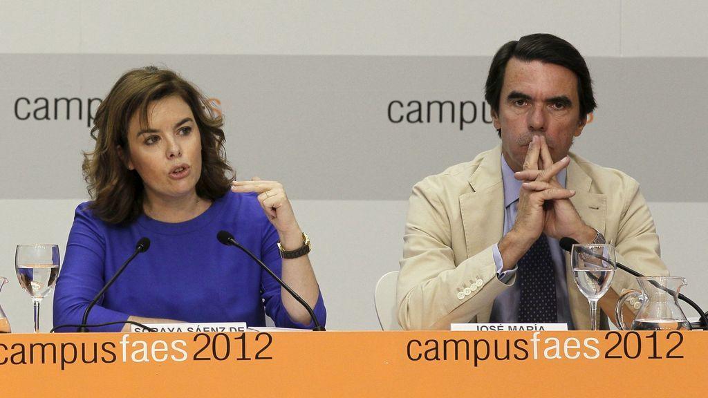 """Santamaría, sobre Aznar: """"Cada uno tiene sus razones y su parte de razón"""""""