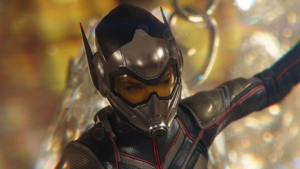 Ant-man y la Avispa (Evangeline Lilly), en acción