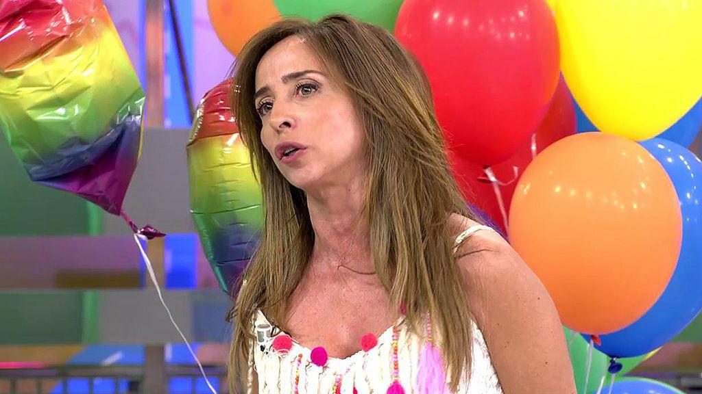 El alegato de María Patiño: así demuestra que no es el topo de las vacaciones de Jorge Javier Vázquez