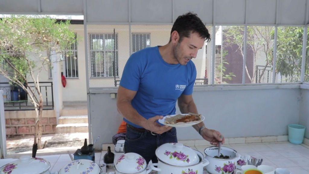 Jesús Vázquez nos enseña la comida típica de Etiopía