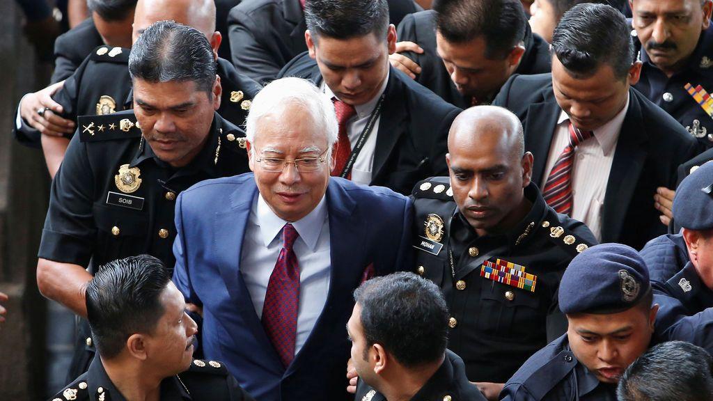 Detenido por corrupción el ex Primer Ministro de Malasia