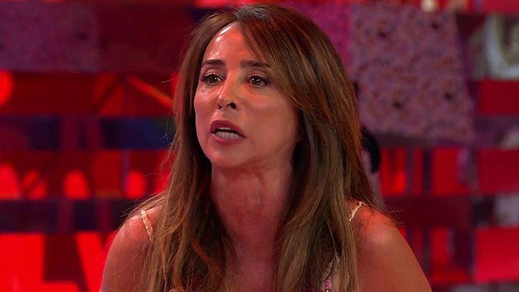 """María Patiño, indignadísima: """"Voy a dar la cara porque nunca he traicionado absolutamente a nadie"""""""