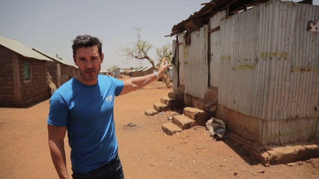 """Jesús Vázquez: """"En el campo de refugiados tienen un baño por cada 16 personas"""""""