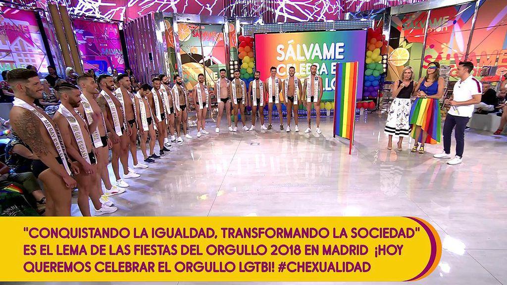 Paz Padilla busca novio para su primo entre los candidatos a Mister Gay 2018
