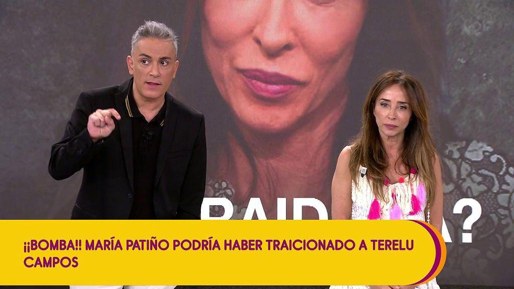 """María Patiño niega haber traicionado a Terelu Campos y reta a quien le acusa: """"Dímelo a la cara"""""""