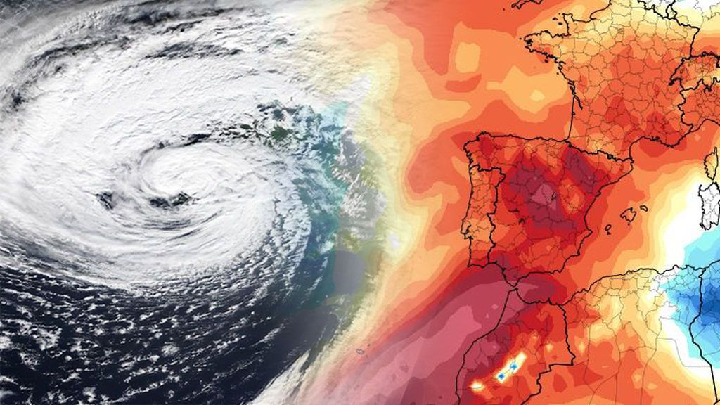 Respira: una dana nos salvará in extremis de la posible ola de calor de la semana que viene