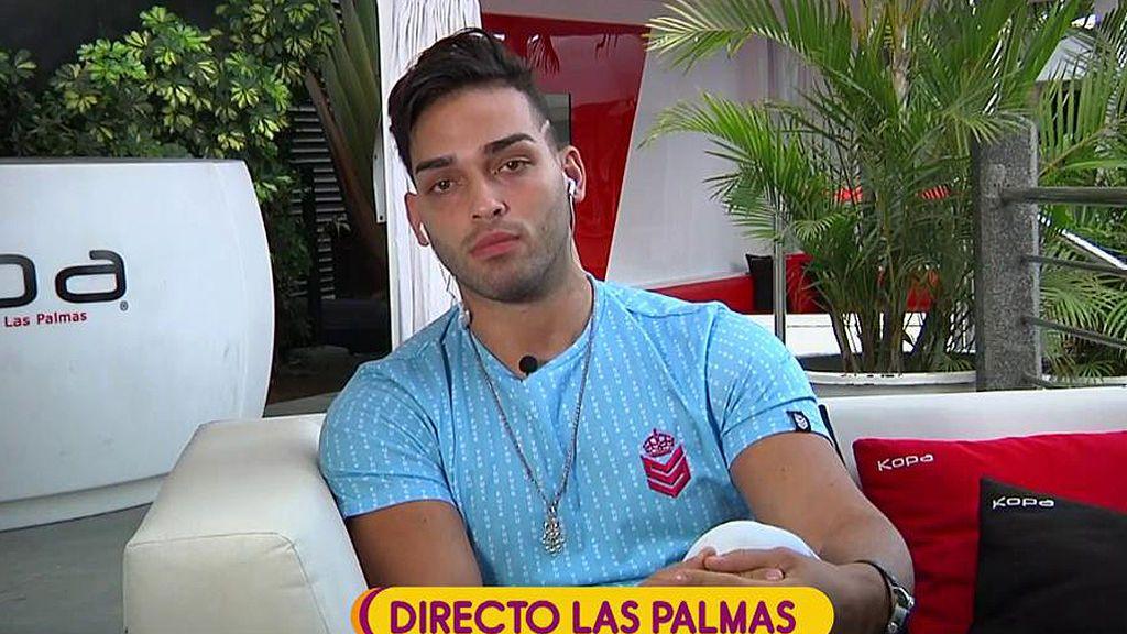 "Ricky 'GH16', sobre Sofía Suescun: "" Se envió fotos y vídeos con un cantante muy conocido de música latina"""