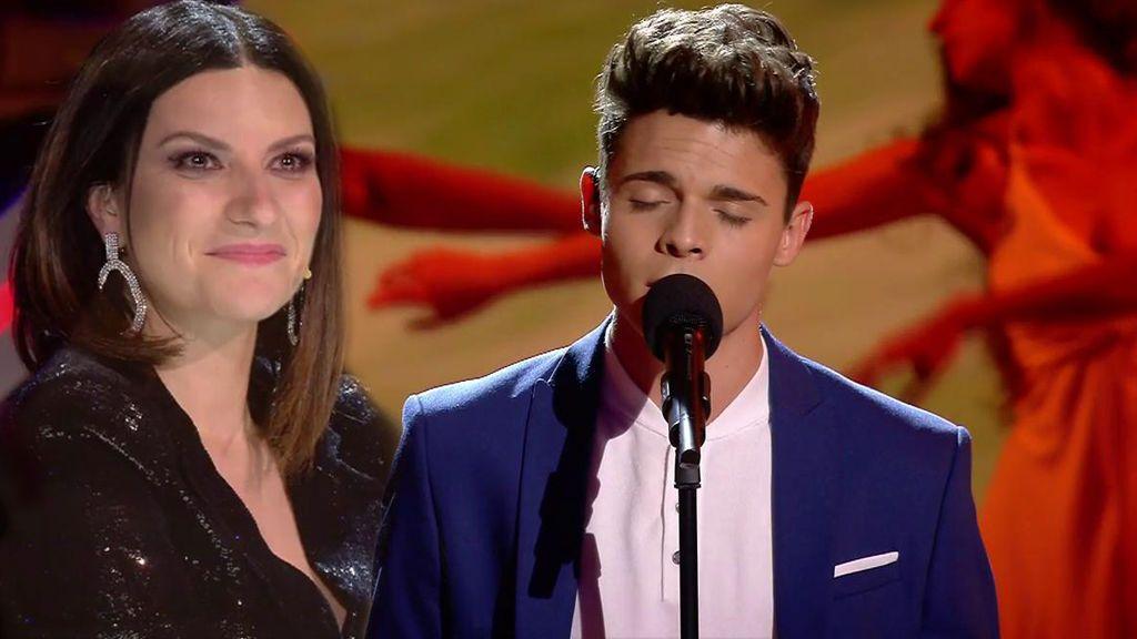 ¡Samuel canta el 'Despacito' más melódico del mundo y su versión hace gritar a Laura Pausini!