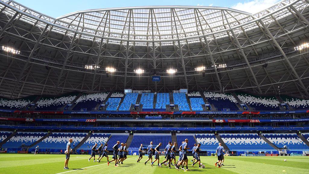 Suecia se prepara para enfrentarse a Inglaterra