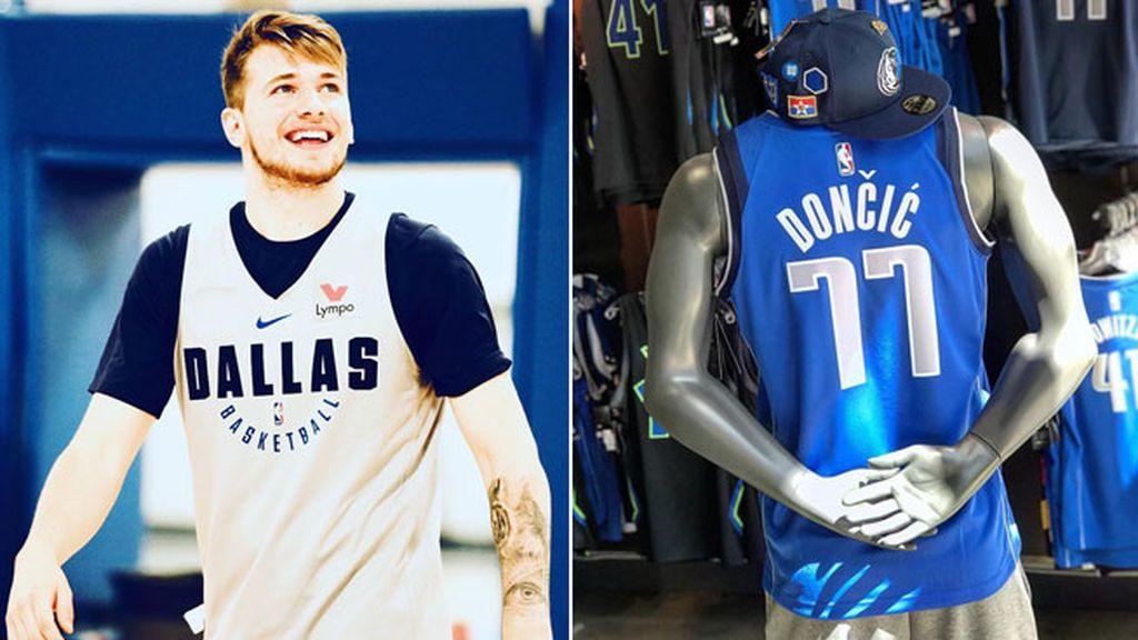 Luka Doncic ya se luce en la NBA: así son sus primeros días con los 'Mavs'