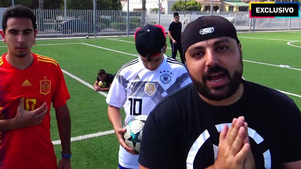 El España - Alemania más loco con Doctore Pollo y la crazy crew
