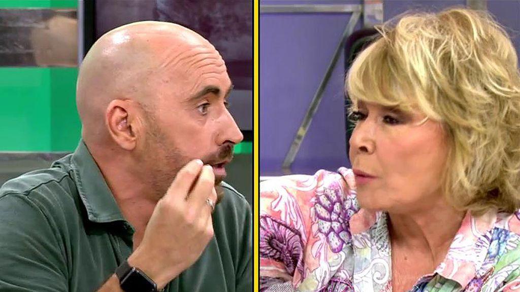"""Diego Arrabal, contra Mila Ximénez: """"Tienes mucho más que esconder que yo"""""""