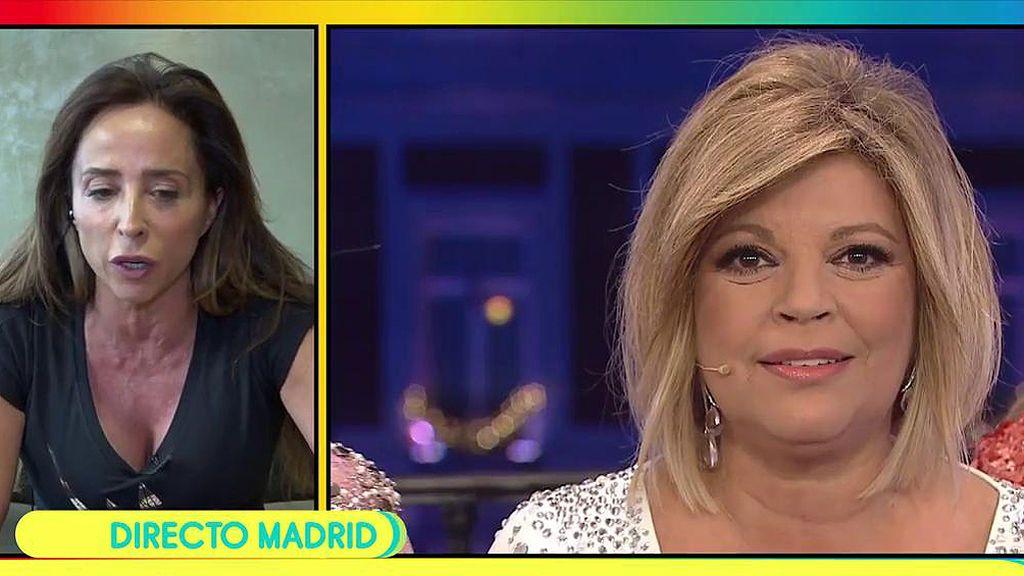 """María Patiño, sobre Terelu Campos: """"Me he dado cuenta de que la quiero más de lo que pensaba"""""""