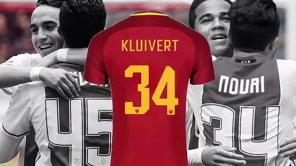 Justin Kluivert llevará el dorsal 34 en la Roma en honor a su amigo Appie Nouri