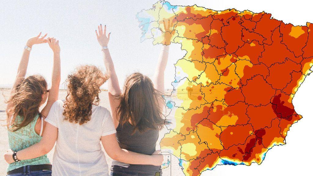 Antes de la dana, habrá un día extra caluroso la semana que viene: te contamos los 'hotpoints'