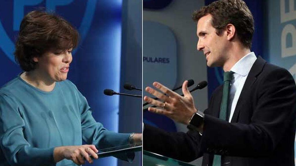 Santamaría vence en las primarias con solo 1.546 votos de diferencia sobre Casado
